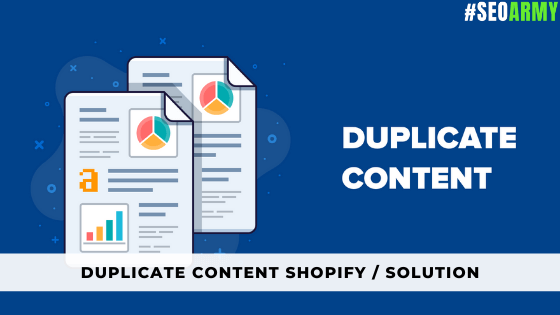 Duplicate Content Shopify