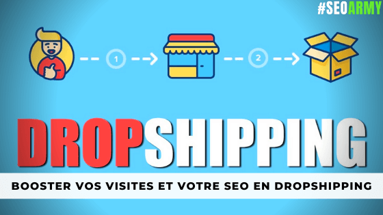 augmenter visites boutique shopify SEO Dropshipping