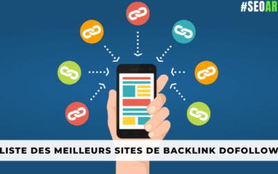 Liste des meilleurs sites de backlink Dofollow