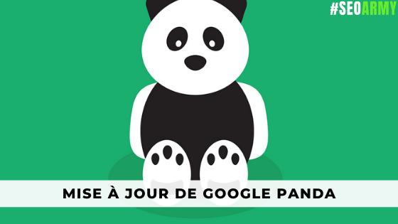 mise à jour de Google Panda