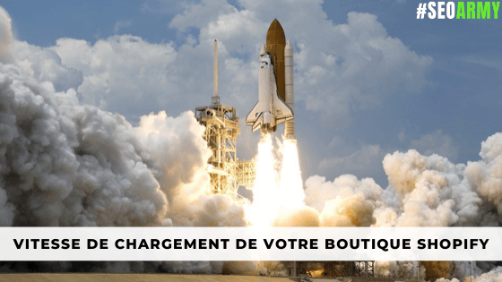 vitesse chargement site shopify