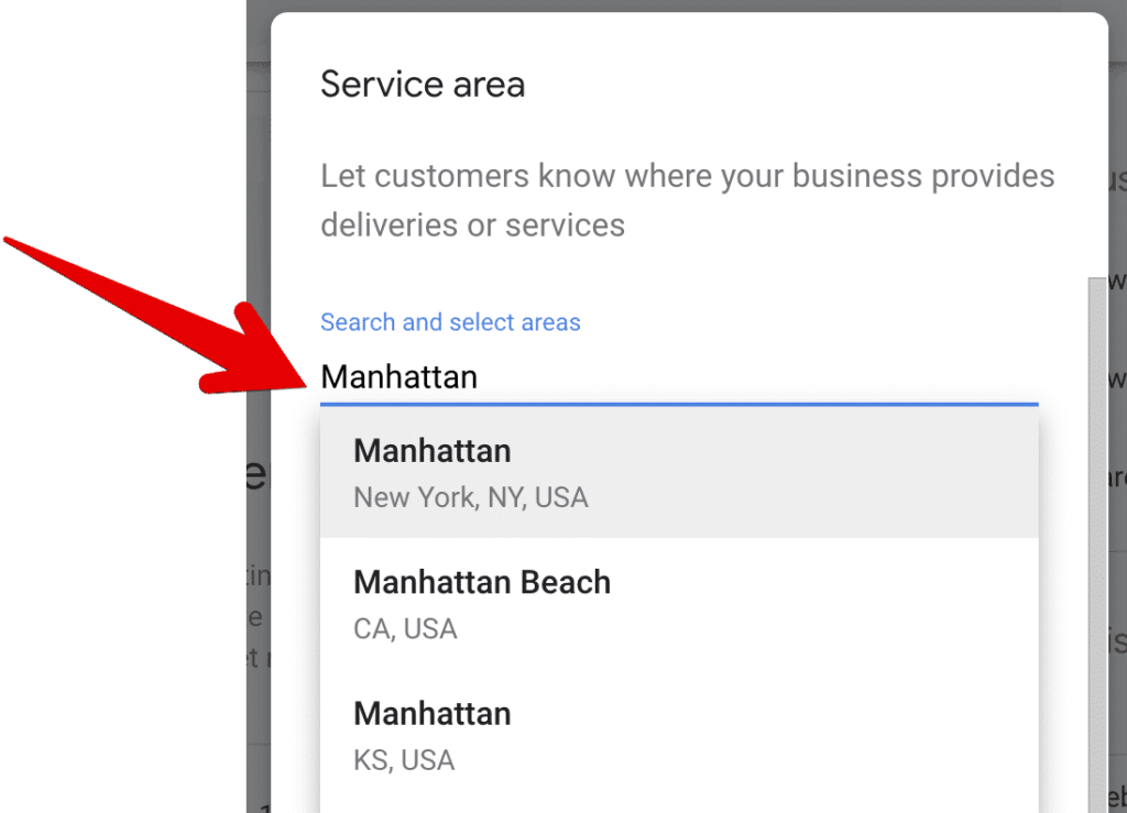 cacher l'adresse sur google my business