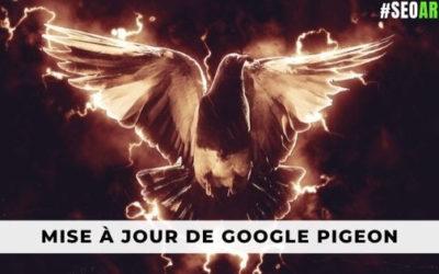 Mise à jour de Google Pigeon