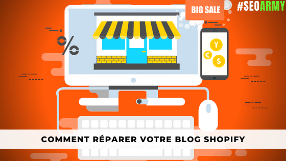 blog seo avec shopify