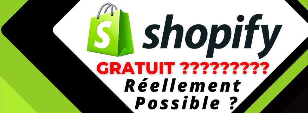 shopify-gratuit